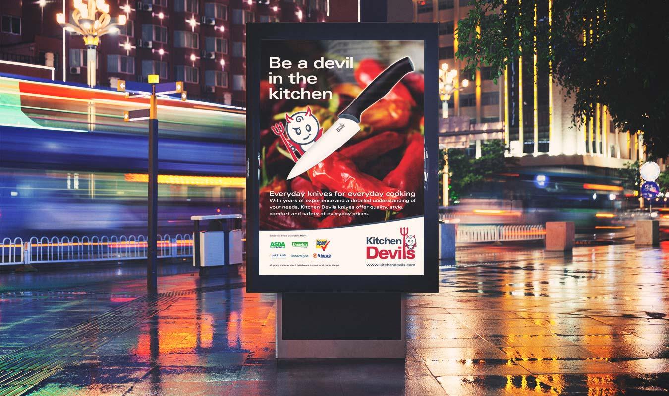 kitchen devils brand u0026 packaging design pentagon design