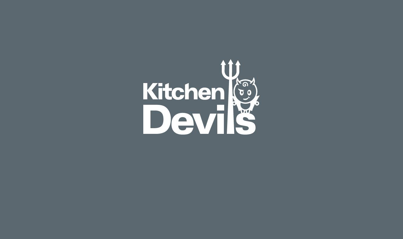 kitchen devils brand packaging design pentagon design kitchen devils knife blocks