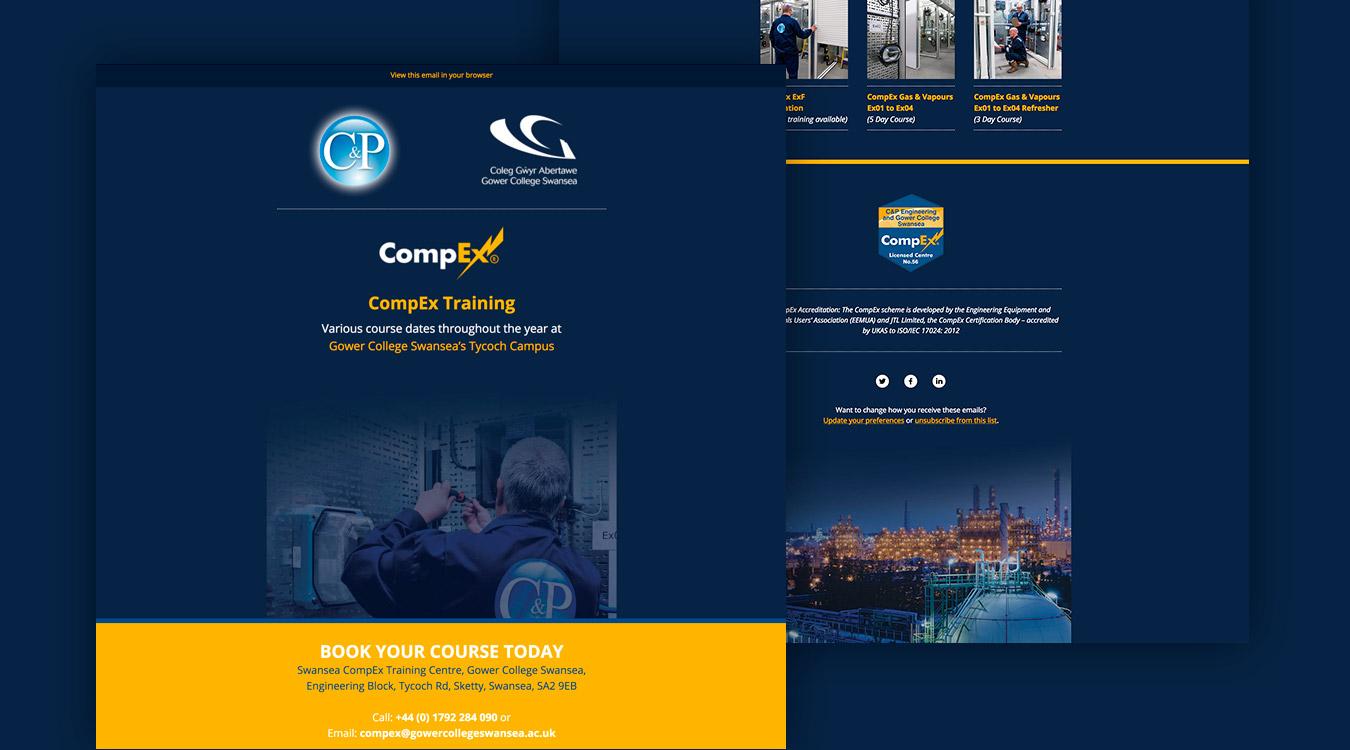 C&P CompEx Training Emailer