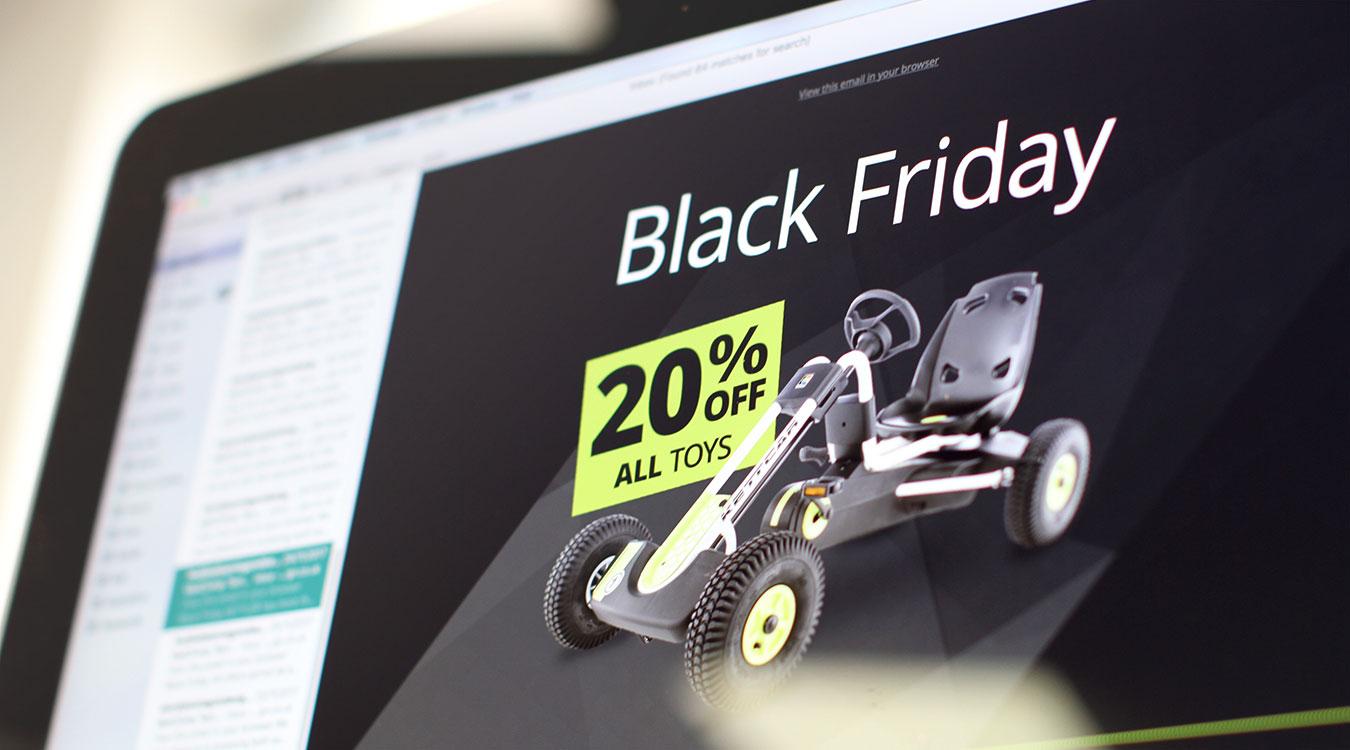 Kettler Black Friday Email Marketing