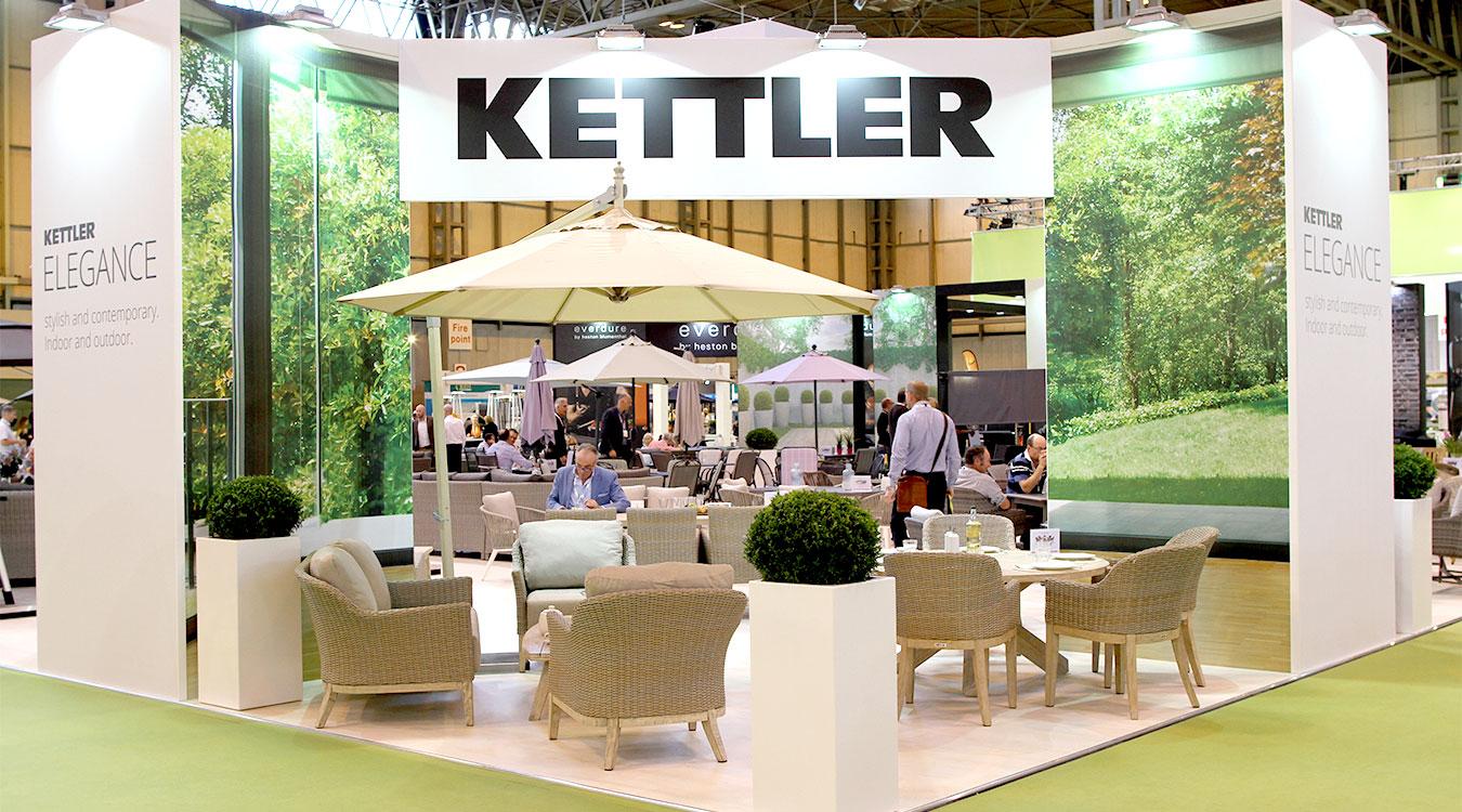 Kettler's SOLEX exhibition stand